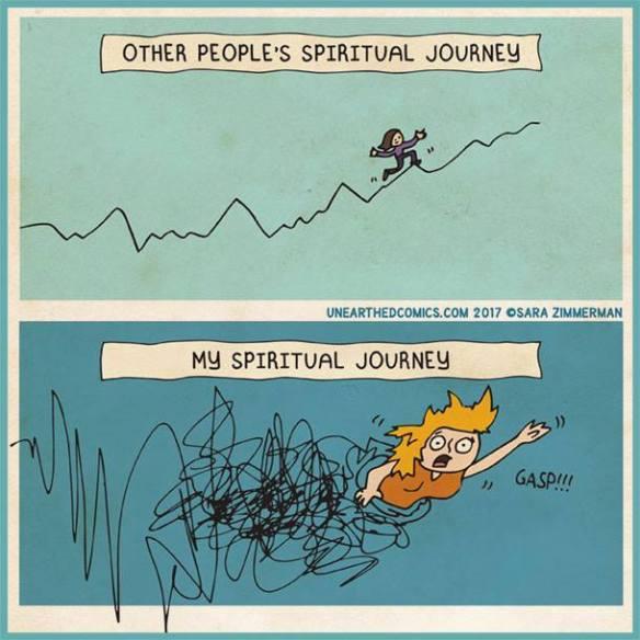 Spiritual journey comic